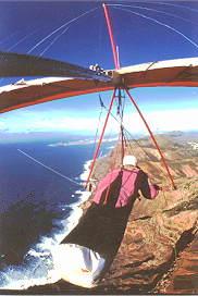 Drachenfliegen Lanzarote
